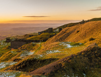 SO5977 : Titterstone Clee Hill by Ian Capper