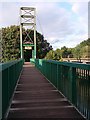 SX8061 : Cable-stay footbridge over the river Dart at Totnes - deck by Stephen Craven