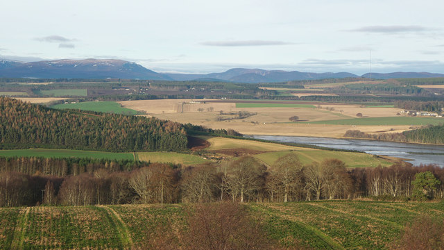 NW from Taindore - the Black Isle landscape