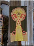 TL7006 : Chelmsford Cathedral: banner (1) by Basher Eyre