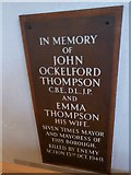 TL7006 : Chelmsford Cathedral: memorial (12) by Basher Eyre