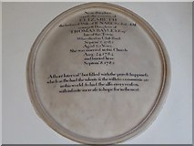 TL7006 : Chelmsford Cathedral: memorial (32) by Basher Eyre