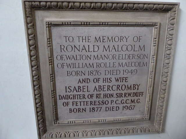 St Peter, Walton-on-the Hill: memorial (a)