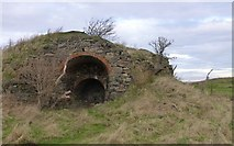 NU1535 : The Lime-kiln at Kiln Point by Russel Wills