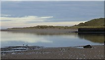 NU1535 : Budle Bay at low tide by Russel Wills