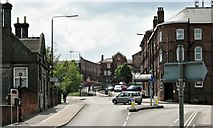 SK3871 : Chesterfield - Corporation Street by Patrick Roper