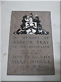 TQ2255 : St Peter, Walton-on-the Hill: memorial (c) by Basher Eyre