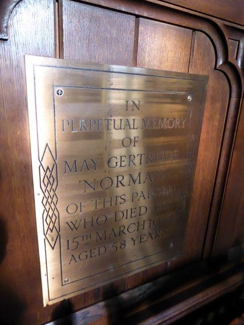 St Peter, Walton-on-the Hill: memorial (h)