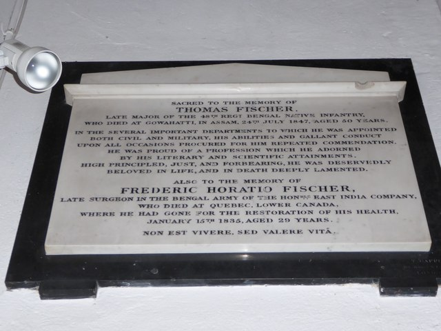 St Peter, Walton-on-the Hill: memorial (m)