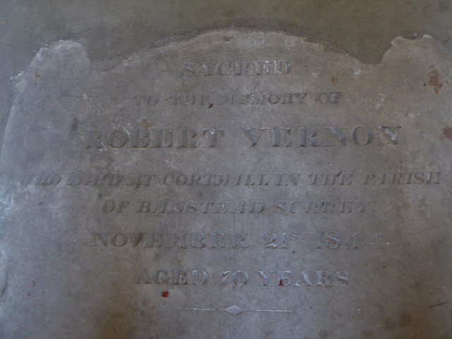 St Peter, Walton-on-the Hill: memorial (q)