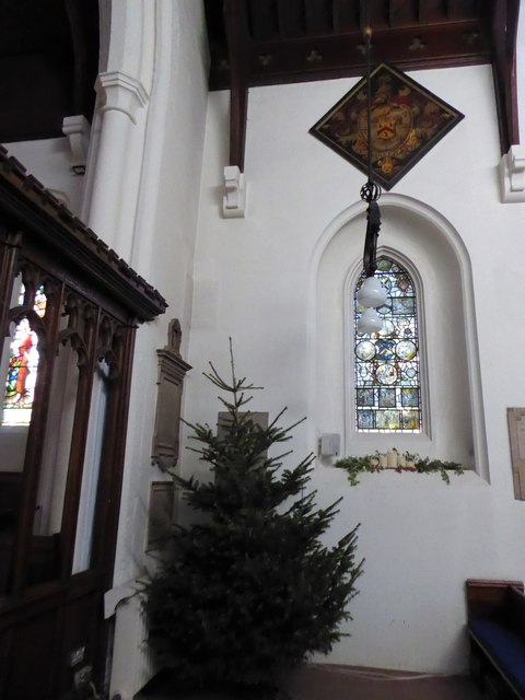 Inside St Peter, Walton-on-the Hill (D)