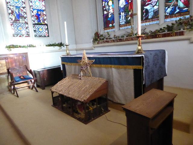Inside St Peter, Walton-on-the Hill (E)