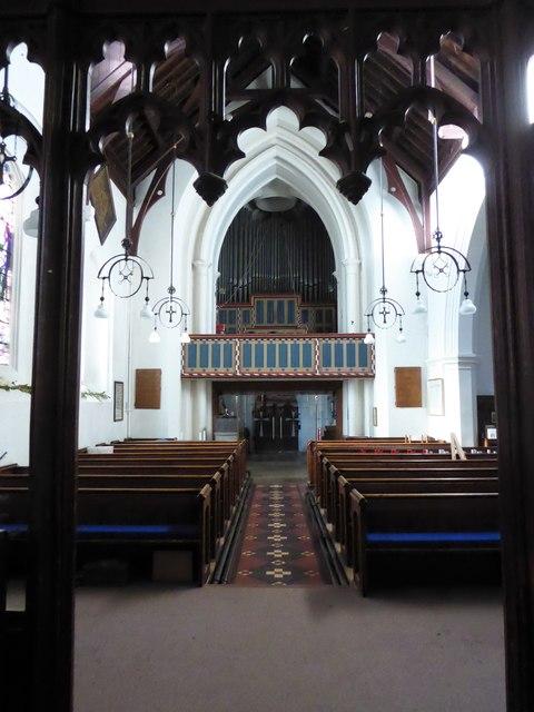 Inside St Peter, Walton-on-the Hill (F)