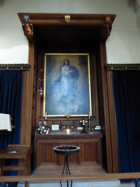 Inside St Peter, Walton-on-the Hill (G)