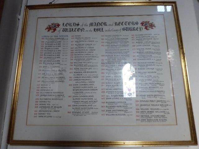 Inside St Peter, Walton-on-the Hill (I)