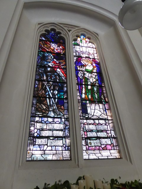 St Peter, Walton-on-the Hill: stained glass window (II)