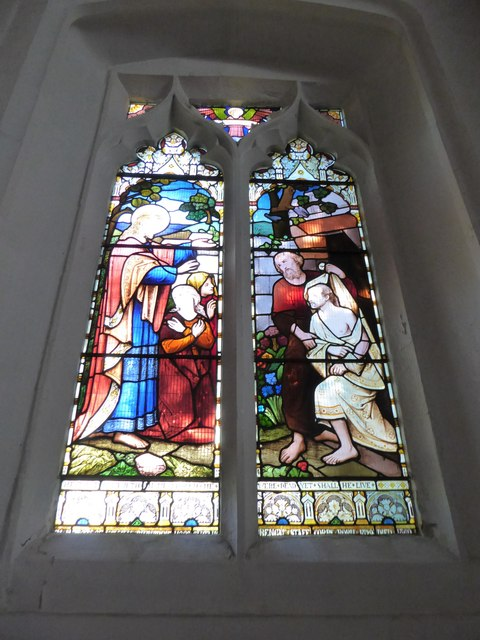 St Peter, Walton-on-the Hill: stained glass window (III)