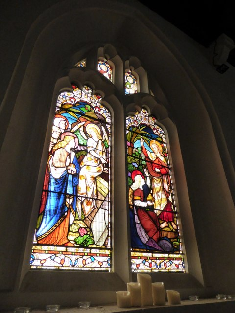 St Peter, Walton-on-the Hill: stained glass window (IV)