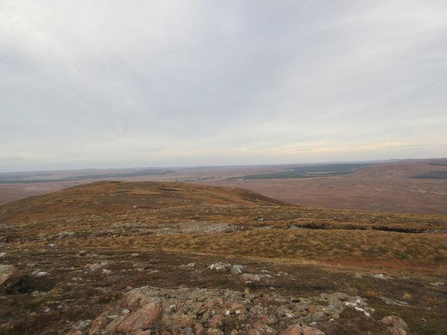 East Ridge of Ben Griam Beg