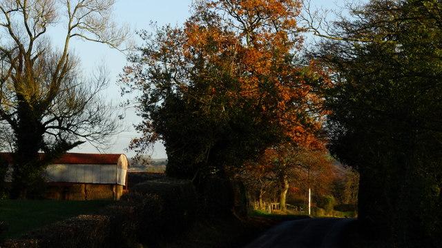 Woodhouse End Rd & Fodens Farm, E of Gawsworth