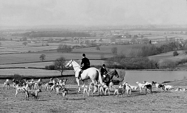 Beaufort Hunt, Horton, Gloucestershire 1985