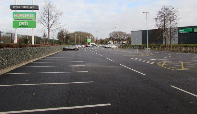 Brook Retail Park car park, Bromsgrove