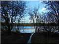 SD7314 : Jumbles Reservoir (west to east) by Carroll Pierce