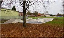SO9568 : Bromsgrove Skate Park by Jaggery