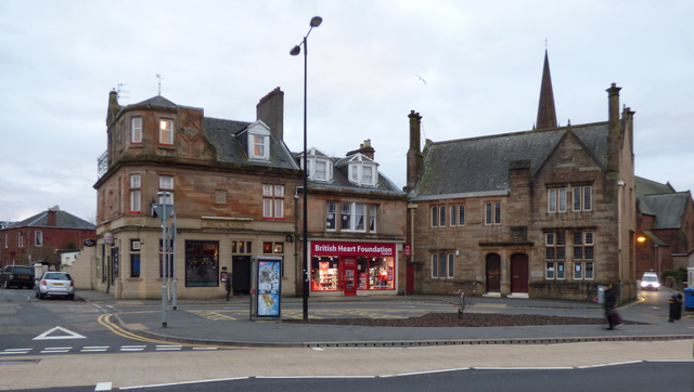 Main Street Largs by Thomas Nugent