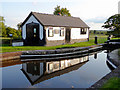 SJ3731 : Lock keeper's office at Frankton Junction, Shropshire by Roger  Kidd