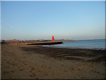NZ3668 : The South Groyne at South Shields by Robert Graham