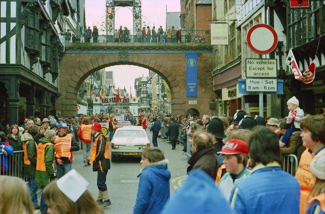 Lombard RAC Rally at Chester, November 1979
