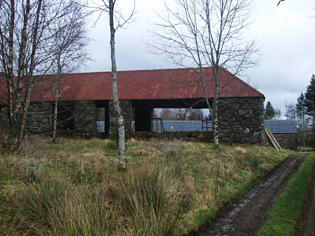 Hebridean barn at Tullich