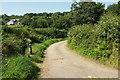 SX1467 : Lane to Tawna Downs by Derek Harper