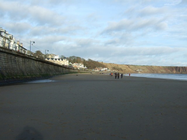 Filey Sands and sea wall