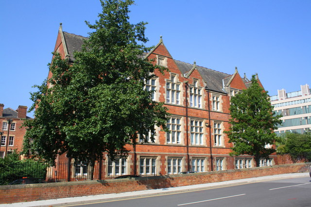 NHS Health Education England building from Vernon Road