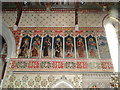 TL6370 : Fordham church chancel, north wall by Adrian S Pye