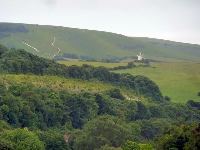 Windmill at Kingston Hollow and South Downs