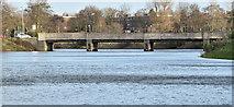 J3371 : The River Lagan, Stranmillis, Belfast (January 2017) by Albert Bridge