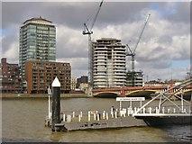 TQ3078 : London - St George Wharf Pier by Colin Smith