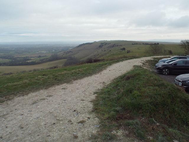 South Downs Way at Ditchling Beacon