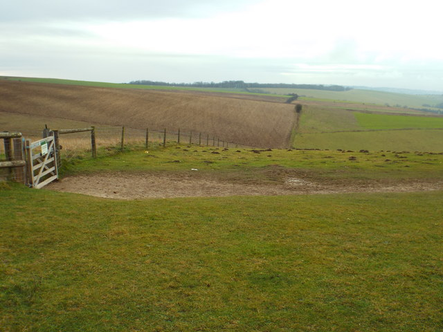 South Downs near Ditchling Beacon