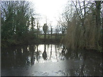 SE9647 : Pond, West End, Lund by JThomas