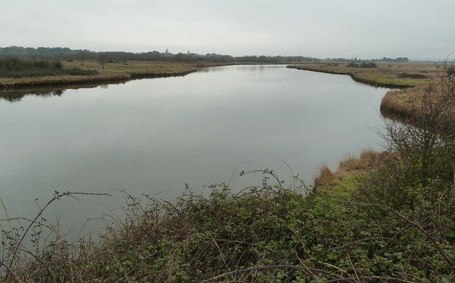 Thorney Island - The Great Deep - Eastern end