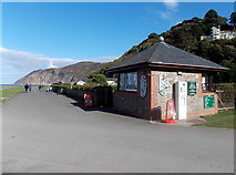 SS7249 : Walls ice cream shop, Lynmouth by Jaggery