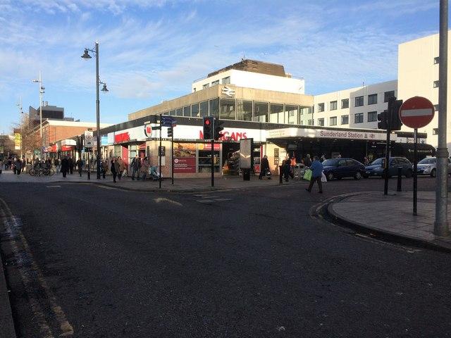 Sunderland (Central) railway station, Tyne & Wear