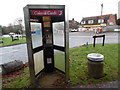 SU8796 : Former KX300 Telephone Kiosk at Cryers Hill by David Hillas