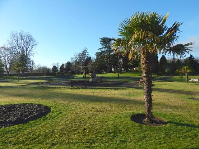 Gardens in Levengrove Park