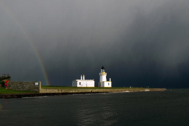 Wild weather at Chanonry Point