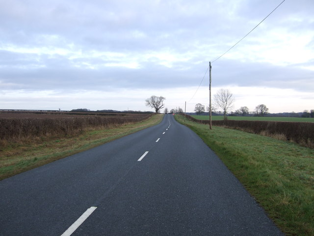 B1246 towards Driffield